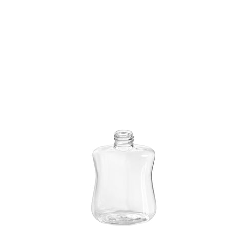 250ml Clear Rectangular Bottle