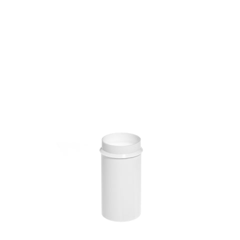 26ml White Snapsecure Jar - 1400 qty