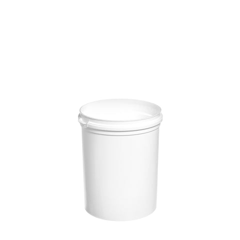 1Ltr White High Tub