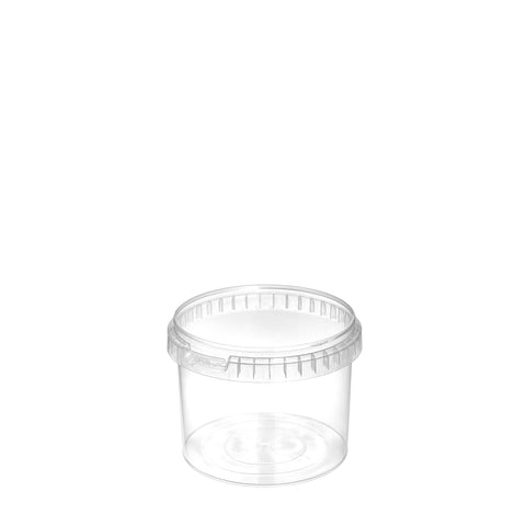 500ml Clear Tub - 300 qty