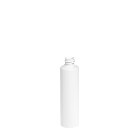 100ml White Boston Bottle