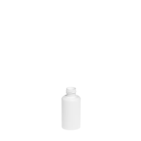 50ml White Boston Bottle - 1792 qty