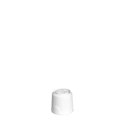2.5mm White Spouted ANB Cap