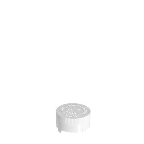 32mm White SqueezeLoc Cap