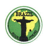 Brazilie Strijk Embleem Patch