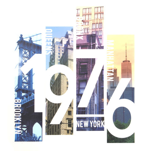1976 New York USA Strijk Applicatie