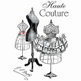 Vintage Haute Couture Applicatie