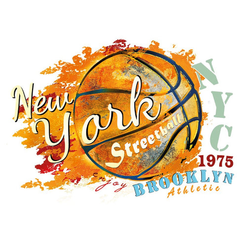 New York City Basketbal Strijk Applicatie