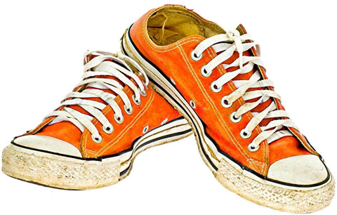 Oranje Sneakers Applicatie