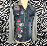 College Style Patch Met Tekst Champs Sports 1953