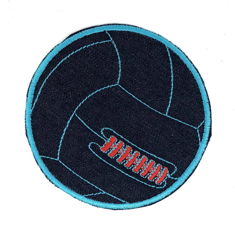 Retro Volleybal XL Patch