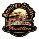 Tradition American Classic Biker XXL Strijk Patch