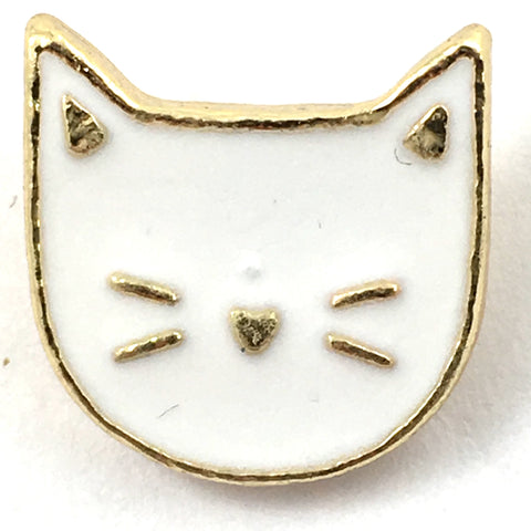 Witte Poes Pin