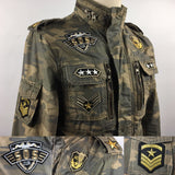 Drie Army Sterren Patch