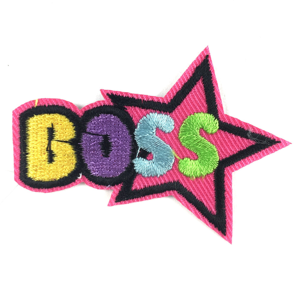 Gekleurde Boss Patch