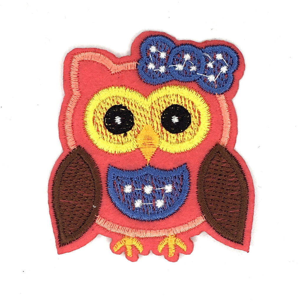 Roze uil patch