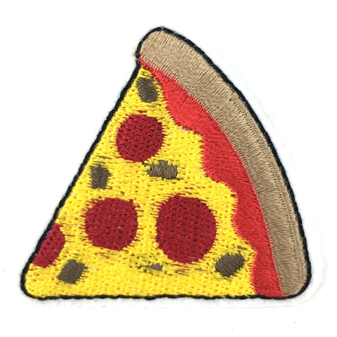 Pizza Slice Patch Pepperoni Kaas