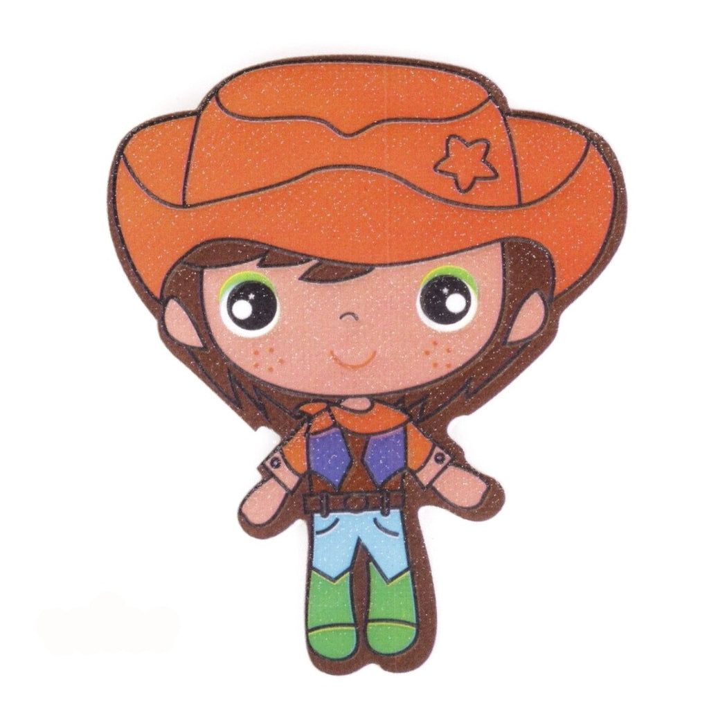 Kinder Cowboy Strijk Patch