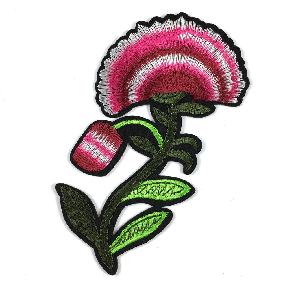Grote Roze Anemoon Patch