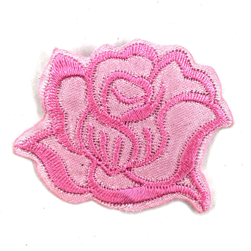 Kleine Roze Roos Patch