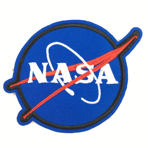 Blauwe Ronde Nasa Patch