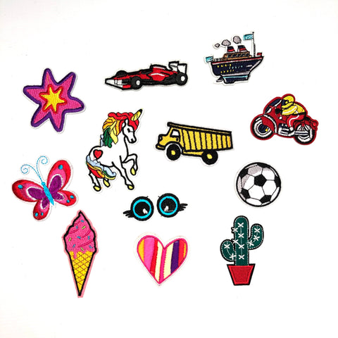 Boys And Girls Patch Set
