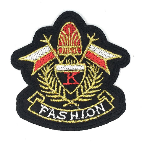 Fashion Embleem Strijk Patch