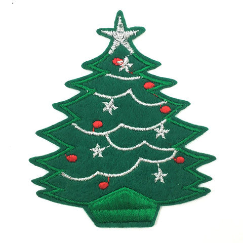 Kerstboom Strijk Patch