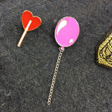 Rood Hart Lolly Pin