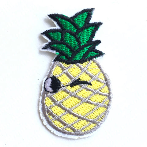 Ananas Patch Met Knipoog
