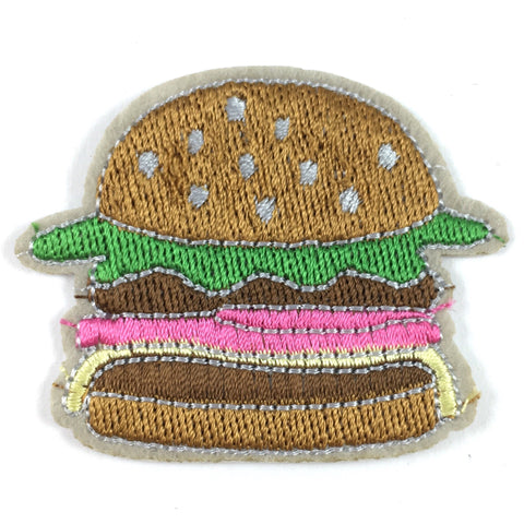 Hamburger met Sla Patch