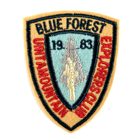 Blue Forest Uinta Mountain Exprorers Club 1983 Patch