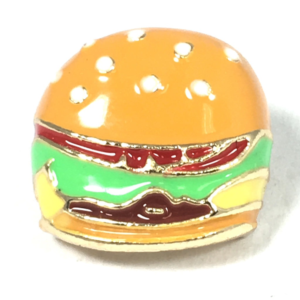 Broodje Hamburger Emaille Pin
