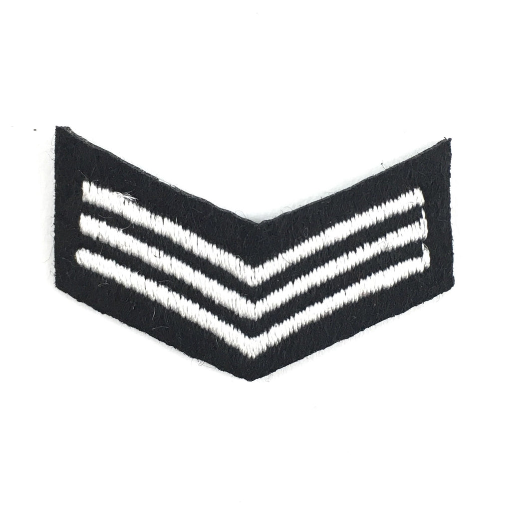 Zwart Wit Military Patch
