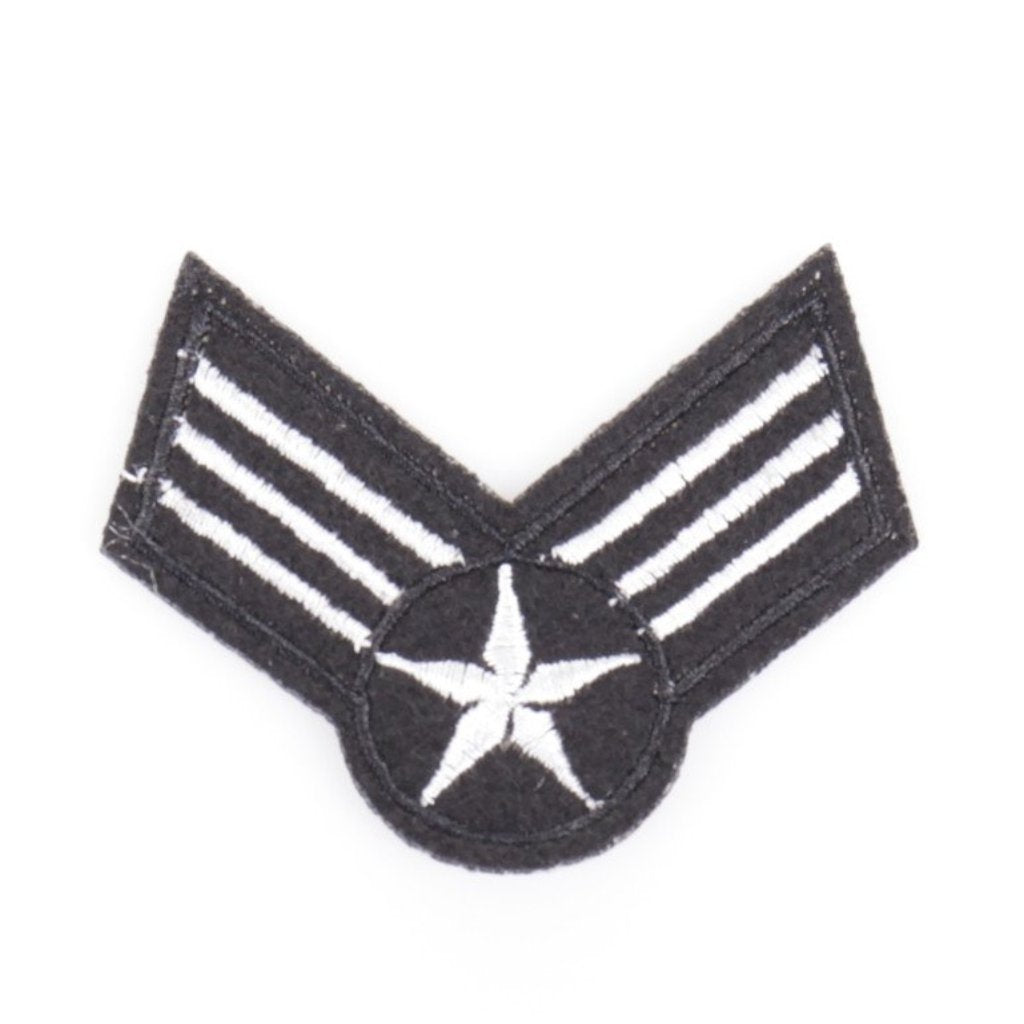 Zwart Witte Flying Wings Patch