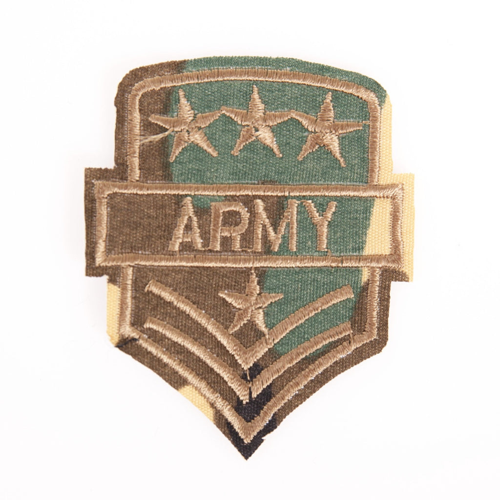 Legergroen Army Patch