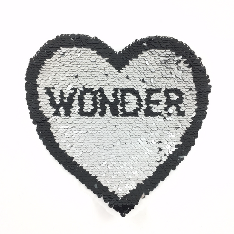 Wonder Paillette Reversible XL Patch