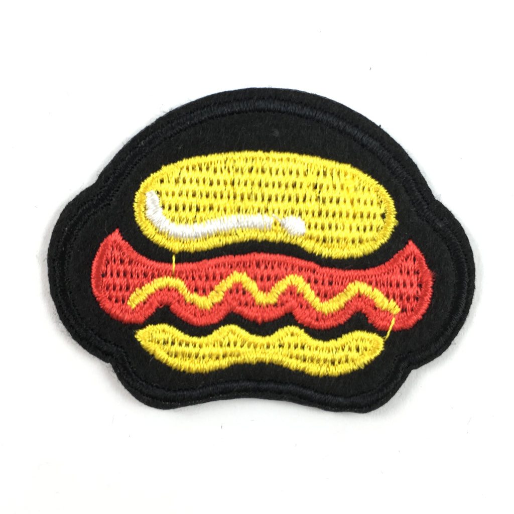 Broodje Hotdog Strijk Patch