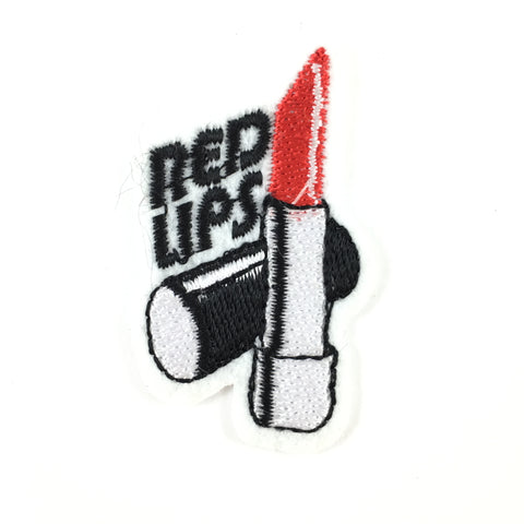 Red Lips Lipstick Patch