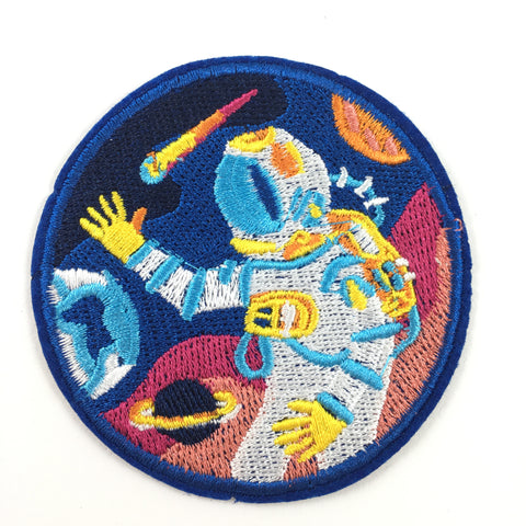 Astronaut In Ruimte Patch