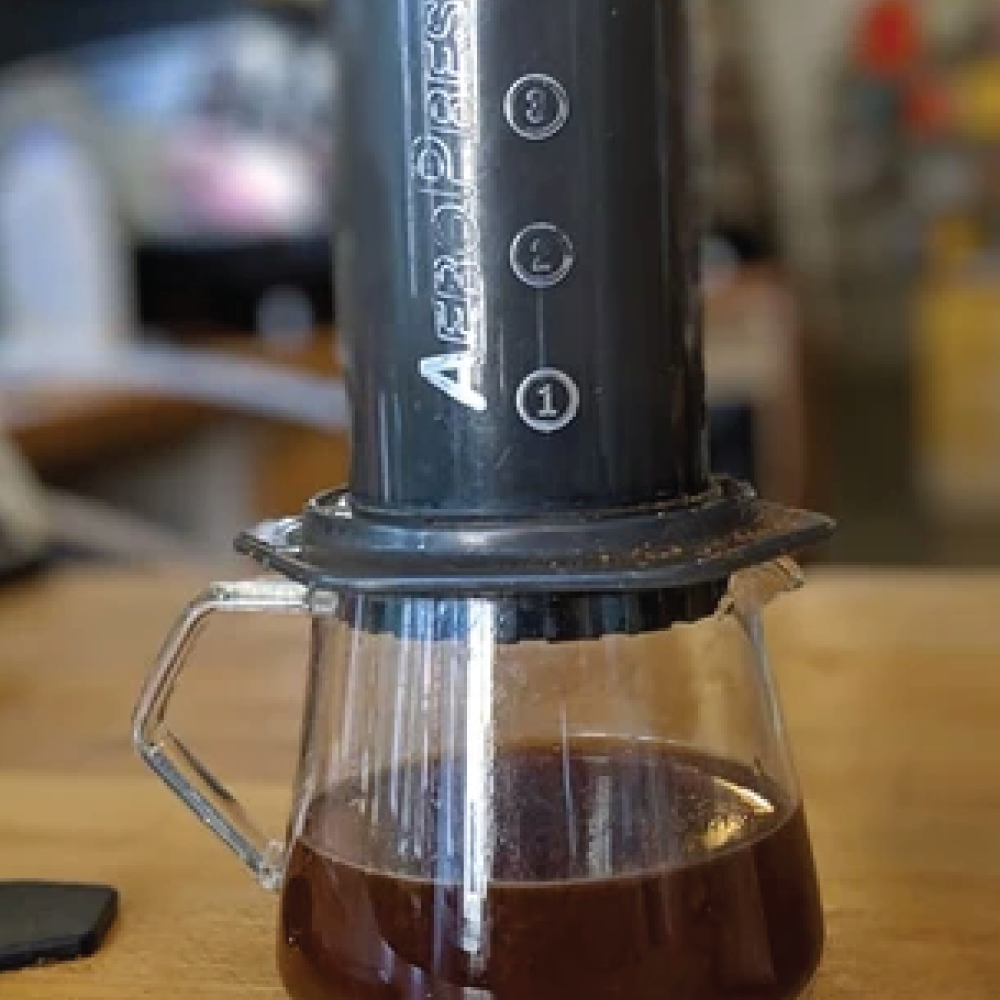 The Art of the Brew: No Pressure! A guide to the Aeropress