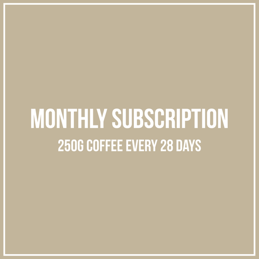 Monthly Coffee Subscription