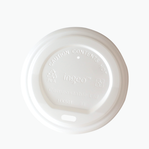Open image in slideshow, White Lid – Biodegradable