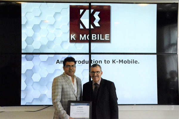 K-mobile Opens its Fifth Store in Ajax