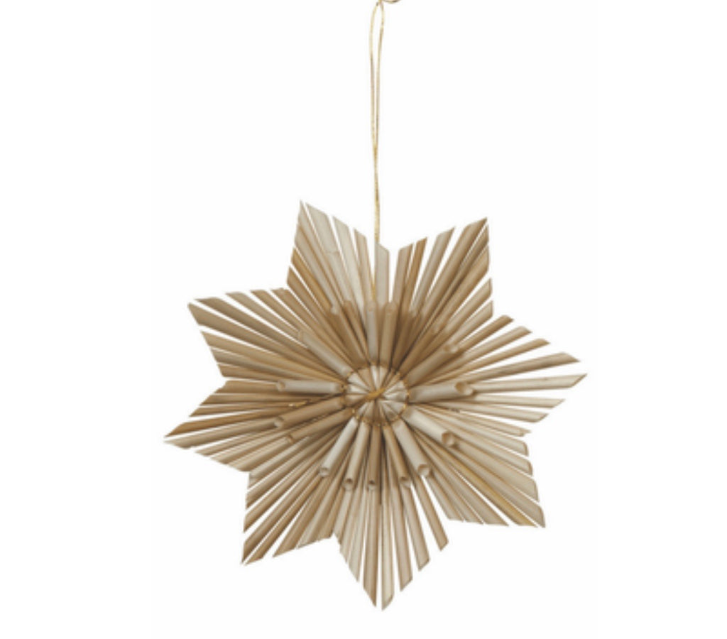Scandi Star Flower decoration
