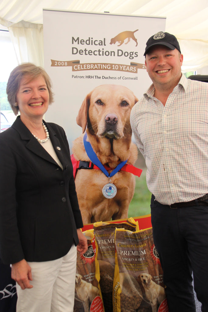 In support of Medical Detection Dogs