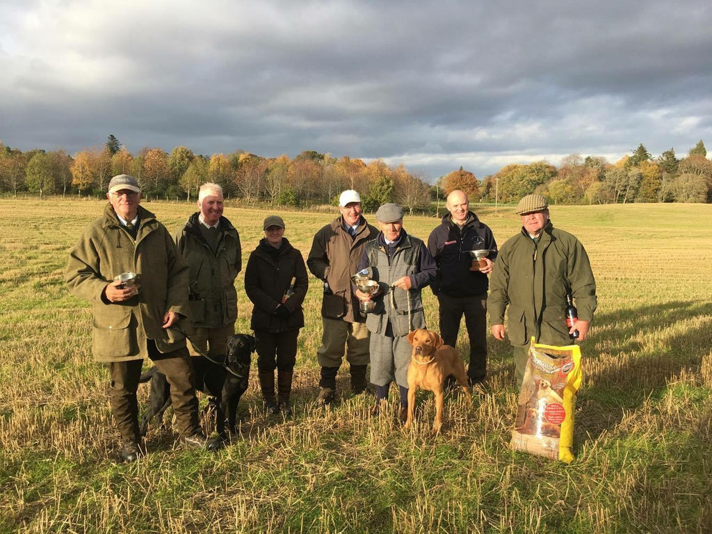 Congratulations to the winners at Moray Firth Spaniel & Retriever Trials!