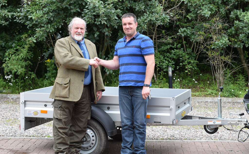 Congratulations to Judge's Choice Trailer Winner Ian Scott from Laurencekirk!!