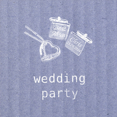 Wedding Party & Wedding Day