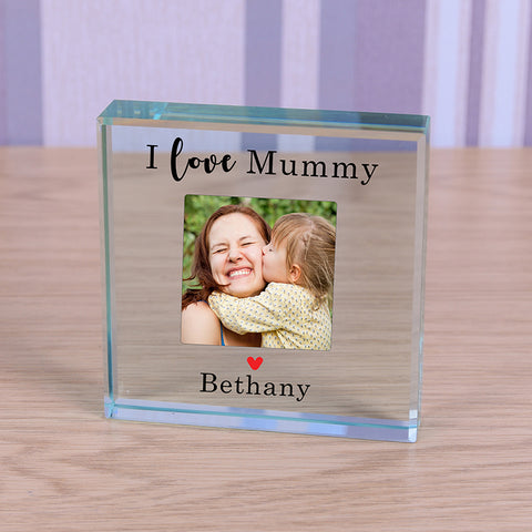 Glass Token - Love Mummy